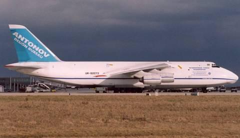 АН-124-100 «Руслан» совершает кругосветное путешествие