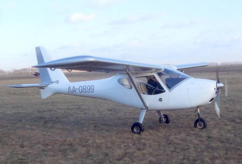 Новый украинский самолет - СВИФТ