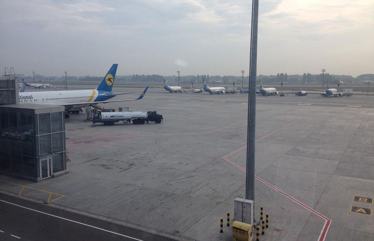 Борисполь наращивает пассажиропоток