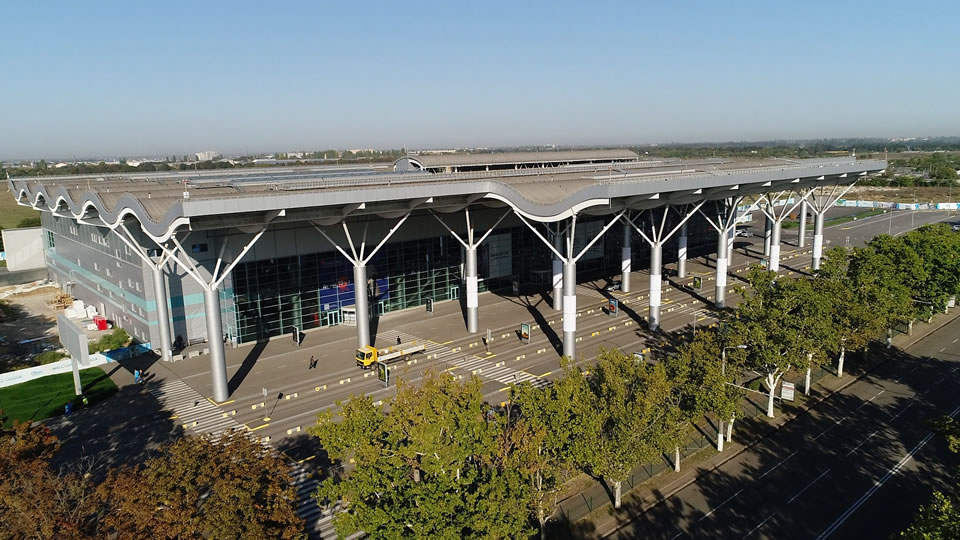 """Аэропорт """"Одесса"""" готовится к возобновлению работы"""
