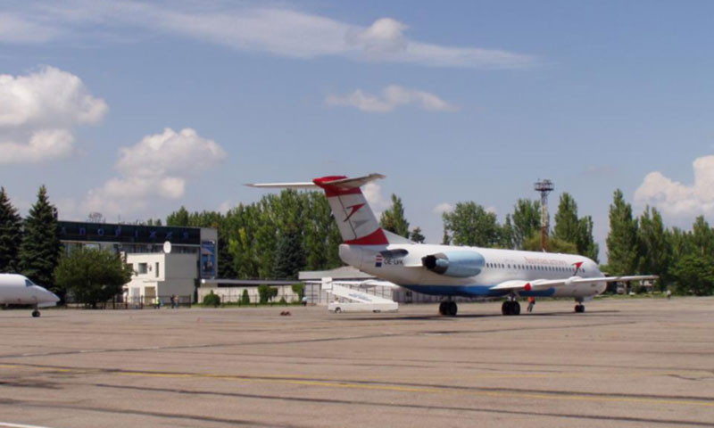 За полгода аэропорт Запорожье увеличил пассажиропоток на треть