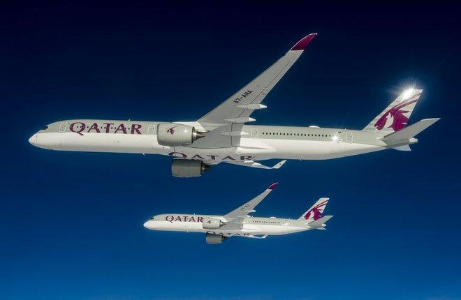 Airbus поставил первый самолет A350XWB — A350-1000