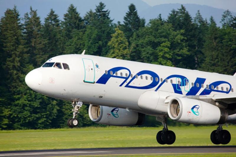 Adria Airways прекращает полеты в Киев