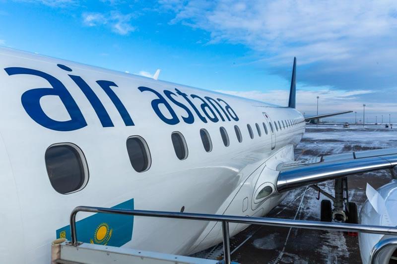 Air Astana намерена увеличить объемы перевозок на украинском направлении
