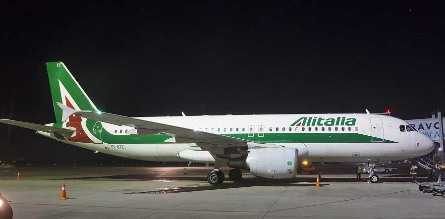 Авиакомпания Alitalia вернулась в Украину