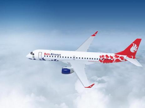 В аэропорт «Киев» пришла новая бюджетная авиакомпания Buta Airways
