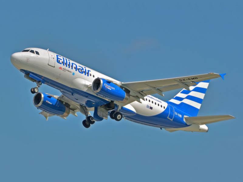 Авиакомпания Ellinair возобновит прямое авиасообщение между Одессой и Салониками