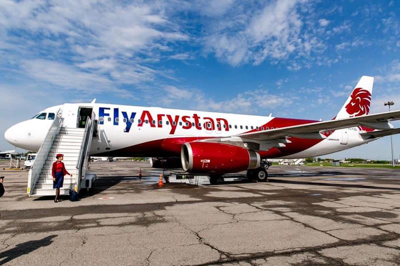 FlyArystan перевезла 200 тысячного пассажира