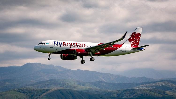 Лоукостер FlyArystan до конца года планирует перевести 520 тысяч пассажиров