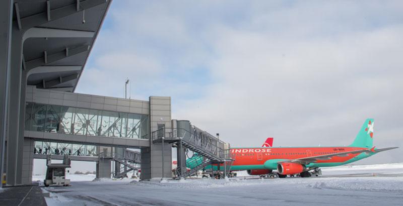 Пассажиропоток аэропорта Харьков в феврале вырос на 33%