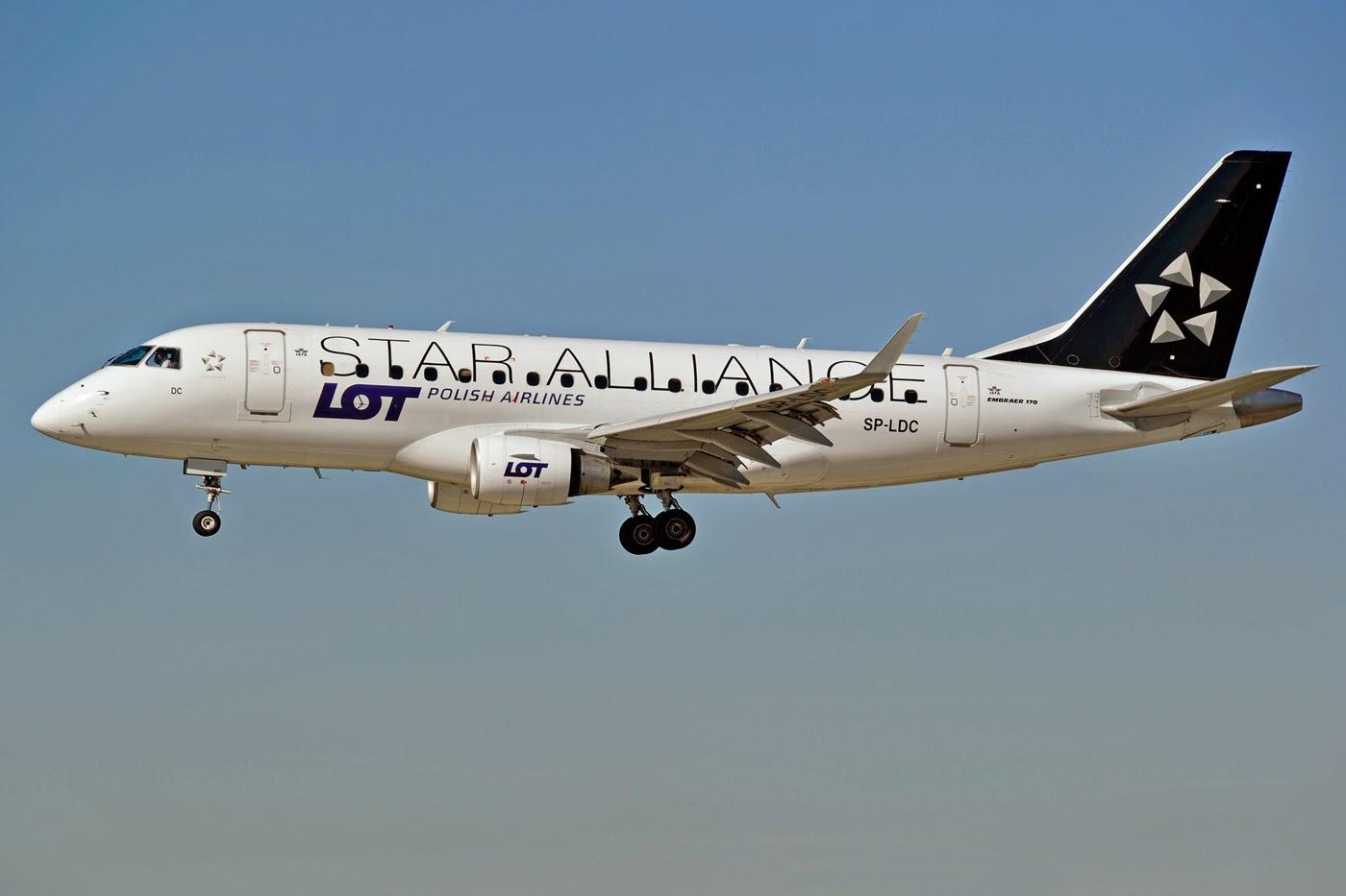 Специальное предложение от LOT на перелеты из Одессы в Польшу