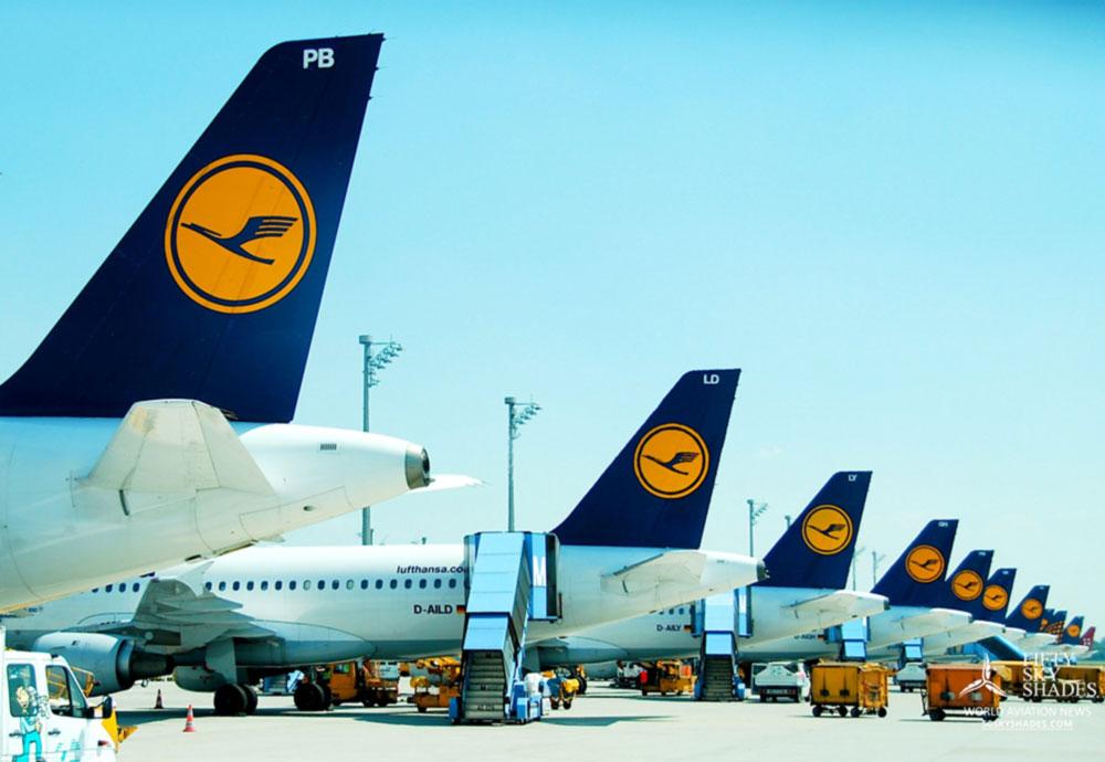 Lufthansa Group за 8 месяцев увеличила пассажиропоток на украинских направлениях
