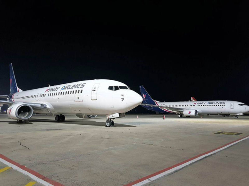Myway Airlines 5 октября откроет рейсы из Тбилиси в Киев