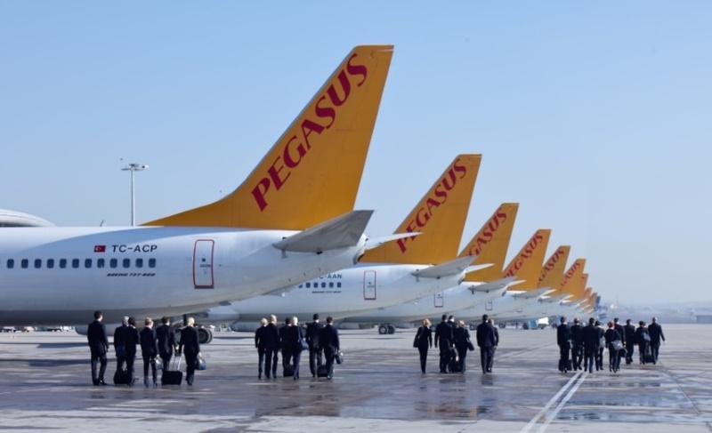 Pegasus в апреле увеличит частоту перелетов между Киевом и Анкарой