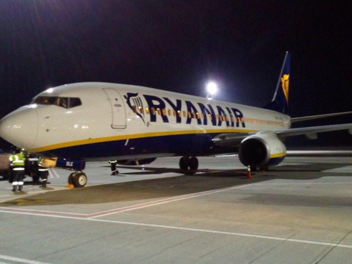 Ryanair будет выполнять полеты в Украине в 2 аэропорта