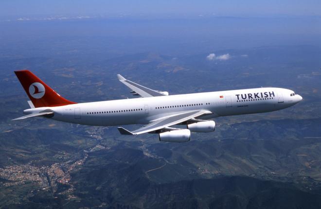 Turkish Airlines открыла направление Киев-Бодрум