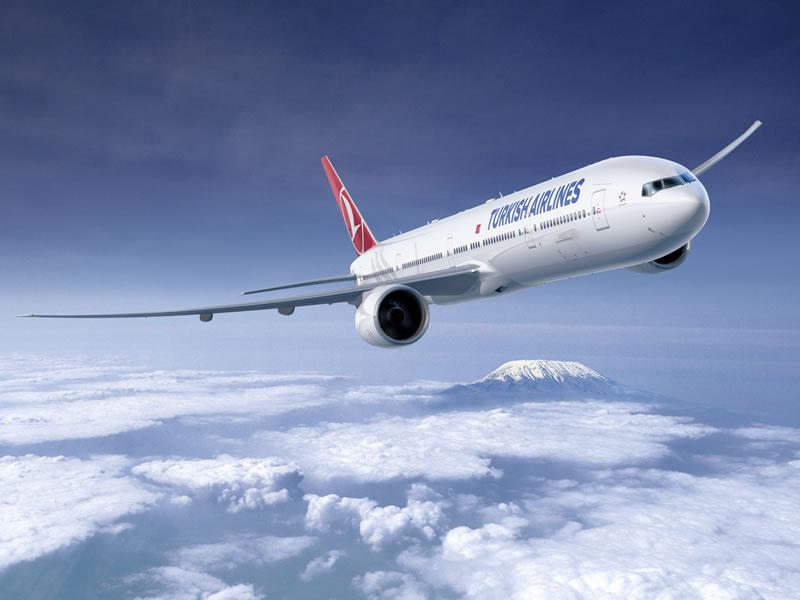 Turkish Airlines начала выполнять регулярные рейсы по маршруту Киев-Бодрум