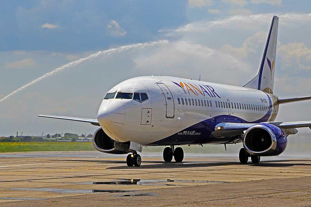 Выполнен первый рейс Одесса-Тель-Авив авиакомпании YanAir