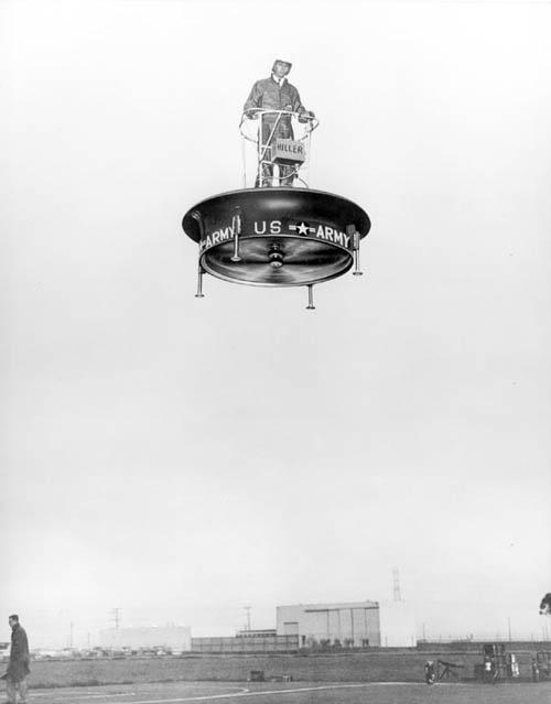 Летающая платформа VZ-1 Pawnee