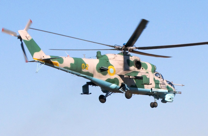 На Львовщине состоялись полеты армейской авиации