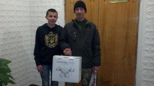 Студент с Донбасса пожертвовал свою стипендию на беспилотник для украинских военных
