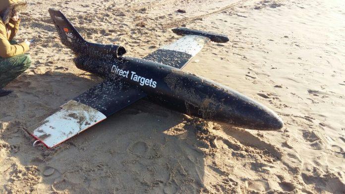 В море под Анапой выловили неизвестный самолет-беспилотник
