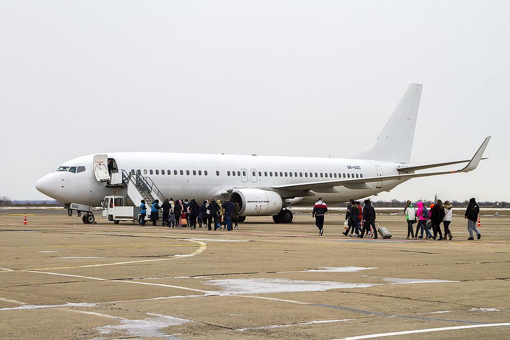 SkyUp увеличивает количество чартерных рейсов из Николаева в Шарм-эш-Шейх