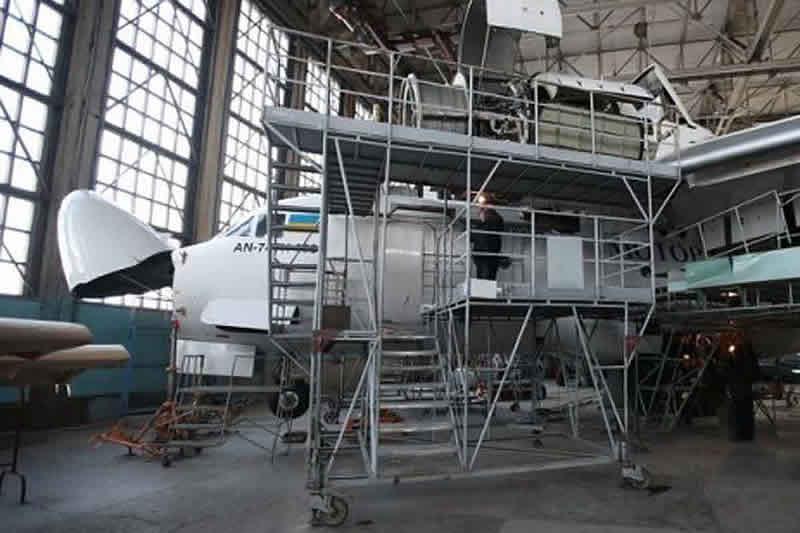 В Харькове начали ремонт Ан-74 ТК 200