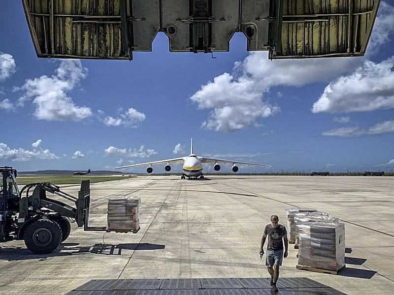 """""""Авиалинии Антонова"""" выполнили 23 полета в помощь жертвам тайфуна"""