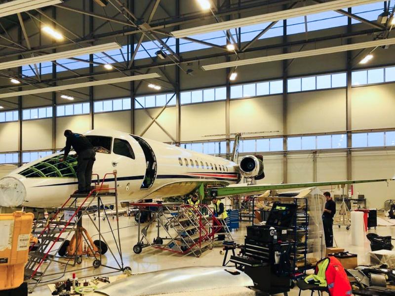 Авторизованный сервисный центр Embraer открыт в FBO RIGA