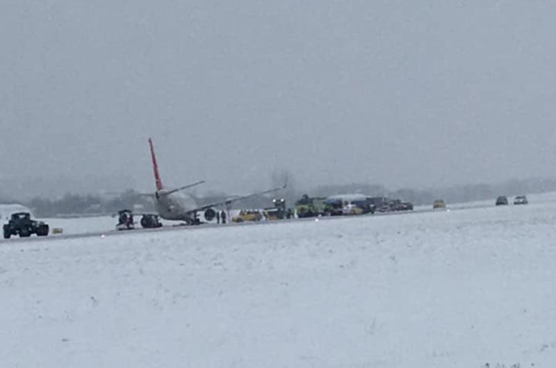 Ситуация с безопасностью полетов в январе