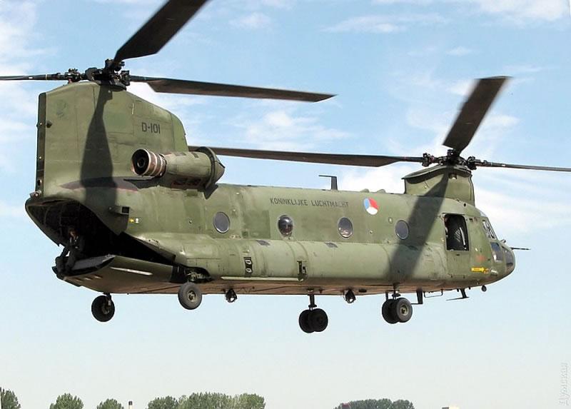 Между Одессой, Затокой, Киевом и Буковелем будут летать пассажирские «Чинуки» и «Морские рыцари»