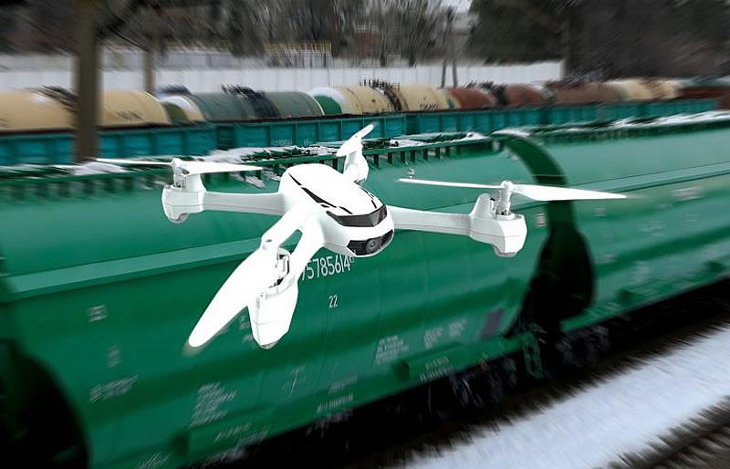 Охранять украинские железные дороги будут дроны