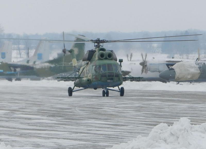 Винницкие вертолетчики получили допуски на Ми-8 МСБ-В