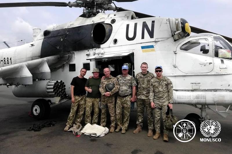 Украинские вертолетчики 18 ОВО совершенствуют летное мастерство и групповую слетанность в составе звеньев
