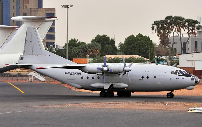 Военно-транспортный Ан-12 разбился в Судане