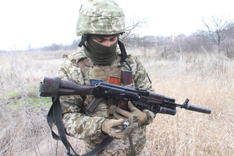 На Донбассе уничтожили вражеский беспилотник, сбрасывающий гранаты