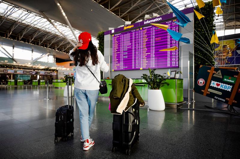 Аэропорт Борисполь за год увеличил пассажиропоток на 21%
