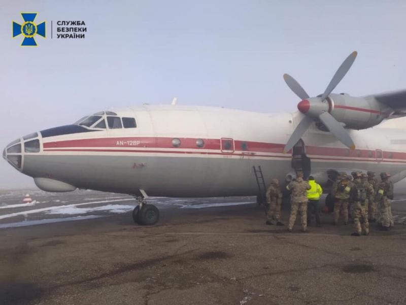 В аэропорту Черновцы провели антитеррористические учения