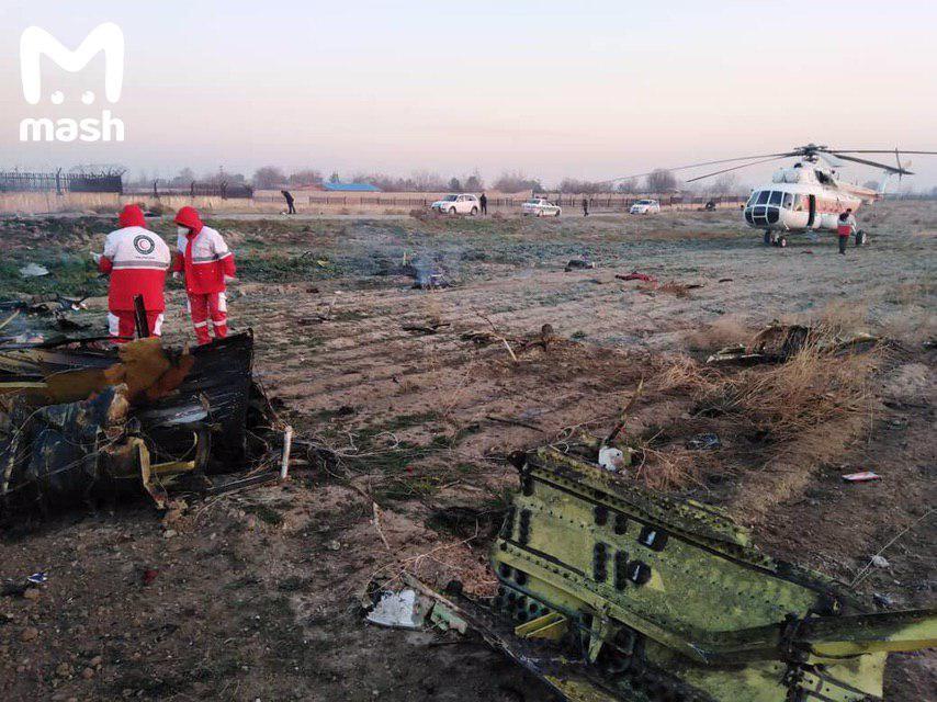 Украина и Иран согласовали алгоритм взаимодействия по сбитому под Тегераном самолету
