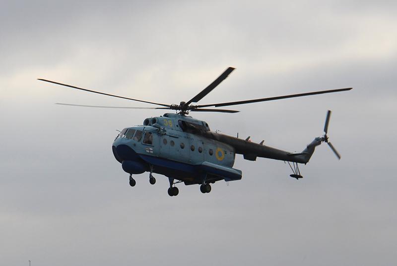 Вертолет морской авиабригады предотвратил разведеятельность российских спецслужб