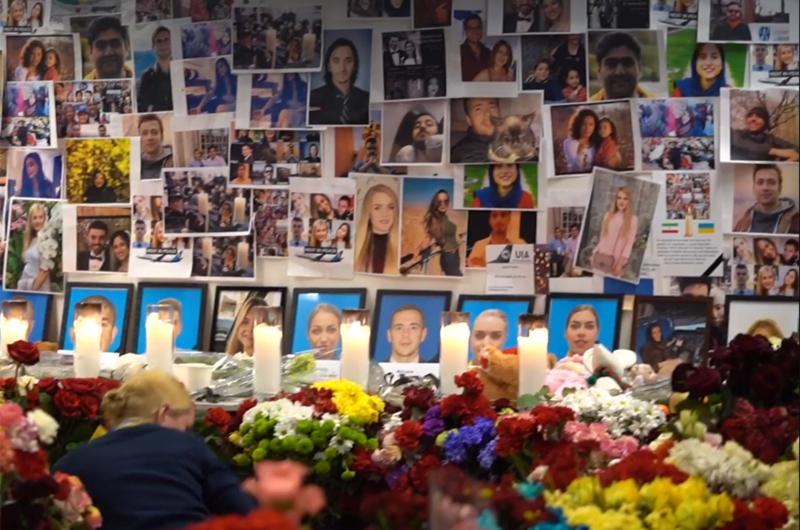 Погибшие украинские пассажиры и экипаж рейса PS752 возвращаются в Украину