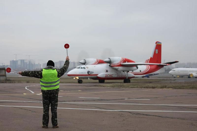 Украинские спасатели вернулись в Украину из Ирана