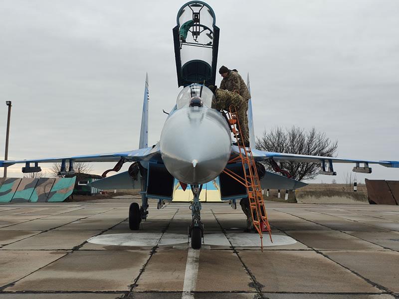 ВСУ получили очередной модернизированный Су-27