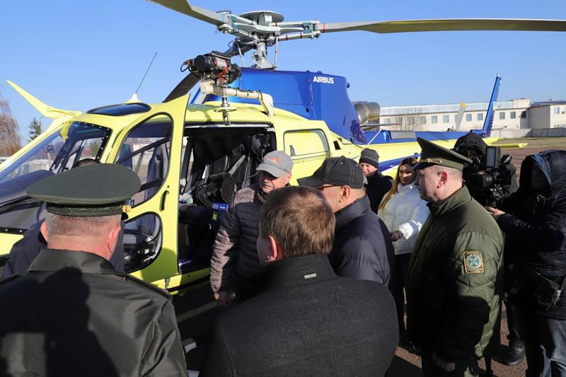 Пограничники получили 2 первых вертолета H125