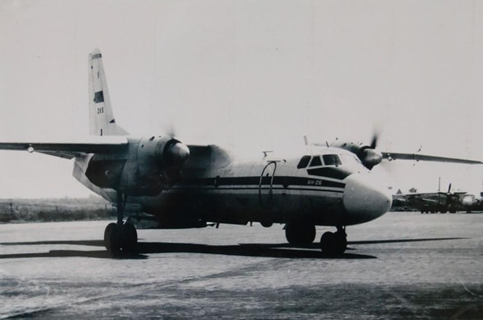 Самолет Ан-26 № 285 до крушения