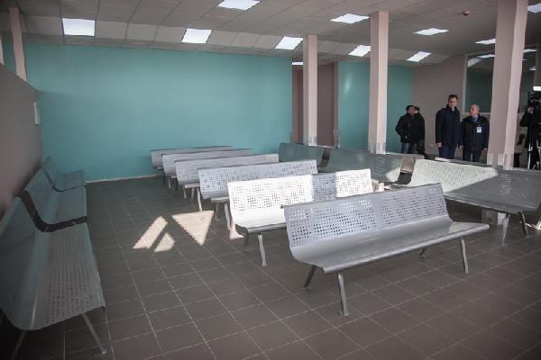 В аэропорту Запорожье после ремонта начал работу терминал для обслуживания пассажиров внутренних рейсов