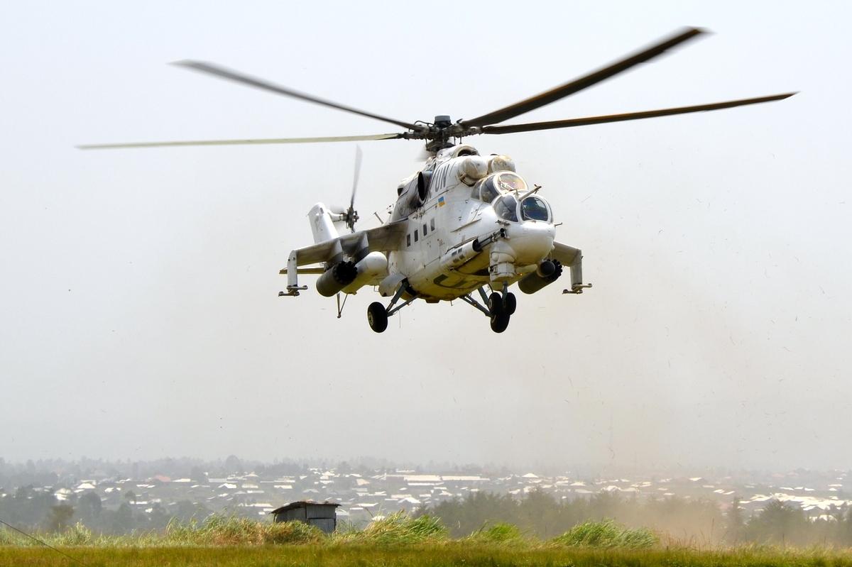 Завершается очередная ротация в ДР Конго