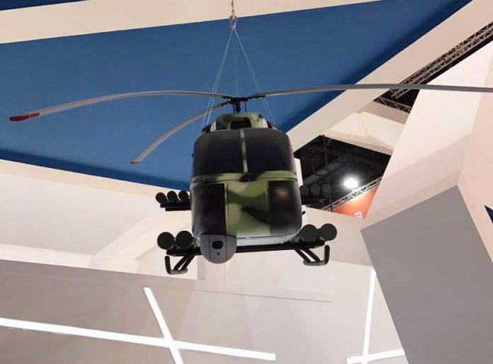 Украина представила  легкий ударный вертолет КТ-112 на выставке IDEX 2017