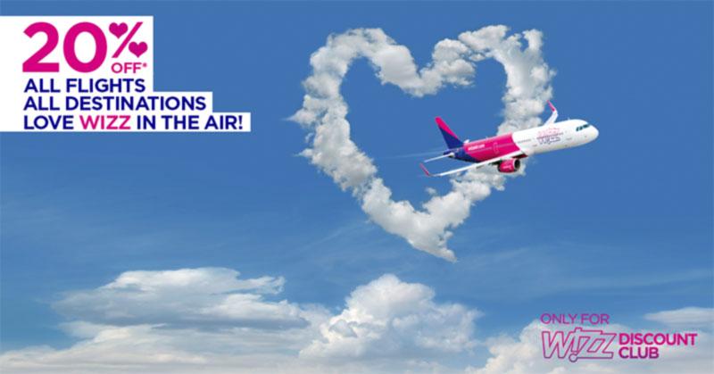 LOVE WIZZ IN THE AIR!